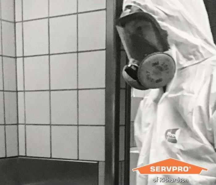 ServprOXIDE Disinfectant - image of employee in PPE