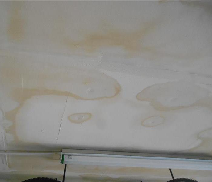 Water Damage What's That Brown, Yellow Spot on My Ceiling?